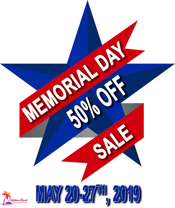 Memorial Day Sale - 50% Off - May 20-27th, 2019